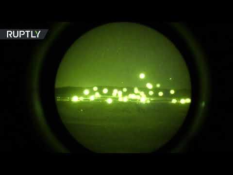 RAW: CSTO holds huge night combat drills in Kazakhstan