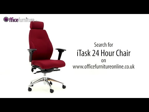 iTask 24 Hour Ergonomic Office Chair features and user guide