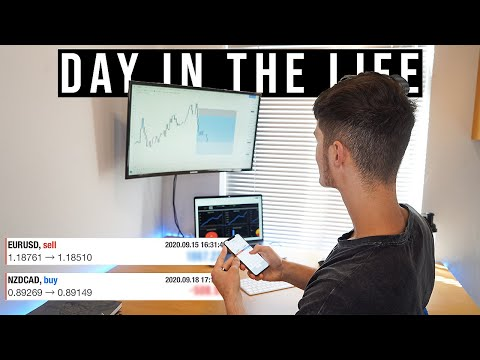 Day in the life of forex trader