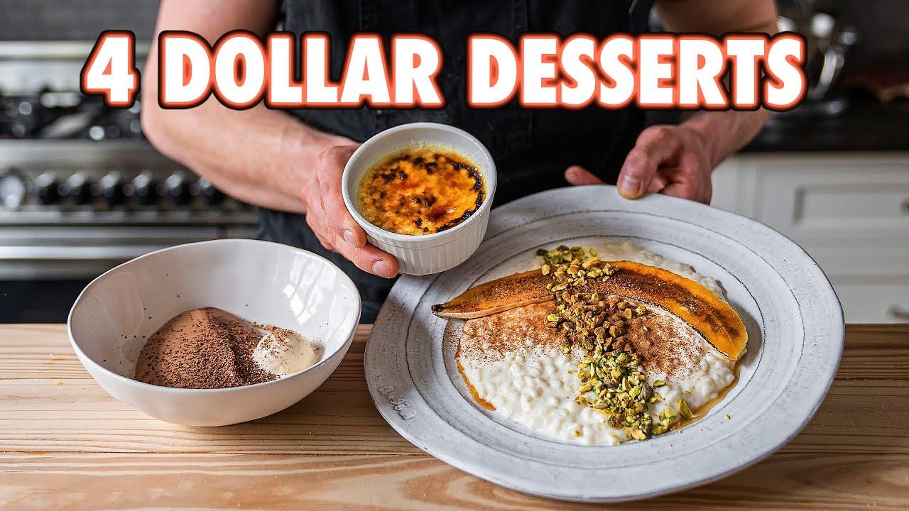 4 Dollar Date Night Desserts But Cheaper