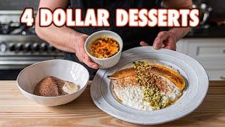 4 Dollar Date Night Desserts (3 ways)   But Cheaper
