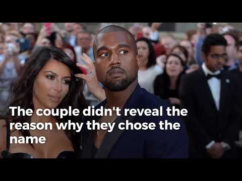 Kim Kardashian West and Kanye West name daughter 'Chicago'