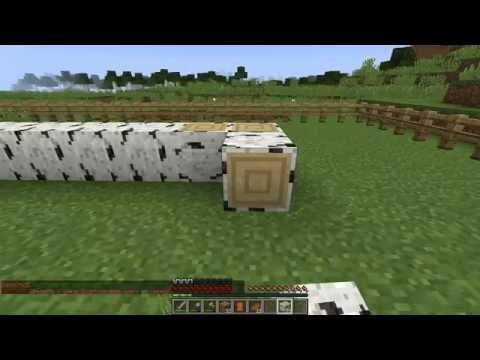 Строю дом на сервере в Майнкрафт из бревна