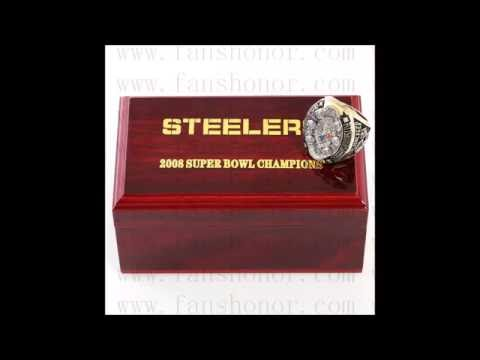 Custom NFL 2005 Super Bowl XL Pittsburgh Steelers Championship Ring