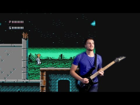 Journey to Silius - Stage 1 Theme Music | Metal Guitar Cover