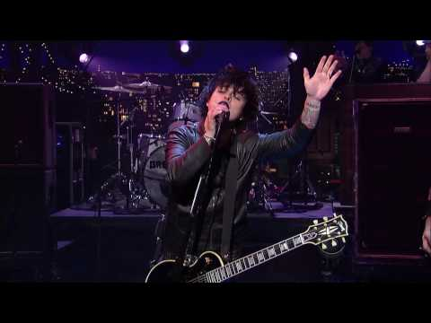 Green Day - East Jesus Nowhere on David Letterman 720p HD