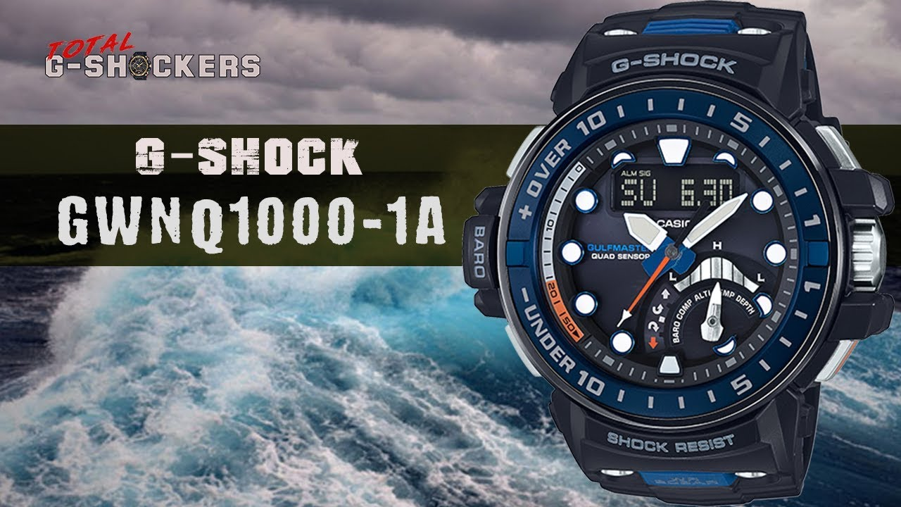 Casio G-SHOCK Gulfmaster GWNQ1000-1A Master of G | Top 10 Things Watch  Review