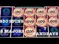 DRAGON LINK 🐲HAPPY & PROSPEROUS (7) HANDPAYS $50 SPINS ONLY 🐲SLOT MACHINE 🐲(2) MAJOR JACKPOTS