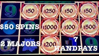 DRAGON LINK 🐲HAPPY & PROSPEROUS (7) HANDPAYS $50 SPINS ONLY 🐲SLOT MACHINE 🐲(2) MAJOR JACKPOTS thumbnail