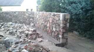 Kopie videa oprava kamenné zdi