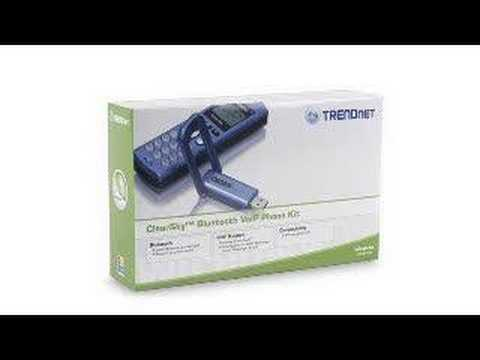 BuyTV Review of the TRENDnet ClearSky Bluetooth Skype Phone