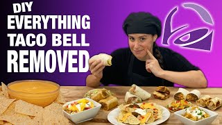 DIY EVERYTHING at Taco Bell 🌮🔔 Removed // Feat. Fiesta Potatoes