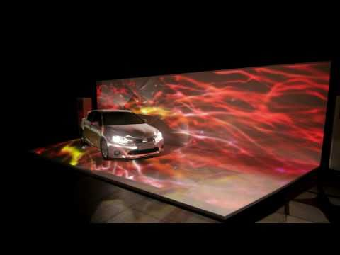 The Lexus CT 200h Singapore Launch - Projection Mapping