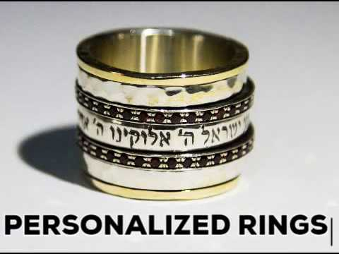Bluenoemi  Jewelry Quotes and verses spinner rings