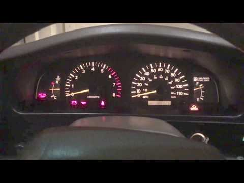 2000 Toyota Tacoma Dash Bulb Replacement With Generic Bulbs
