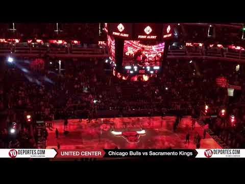 Chicago Bulls vs. Sacramento Kings Lineup United Center