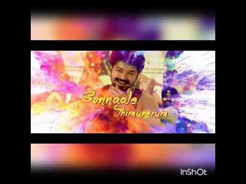 Tamilanda ennalum cut song - mersal