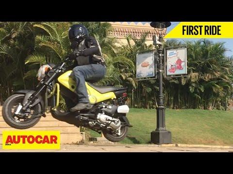 Honda Navi   First Ride   Autocar India