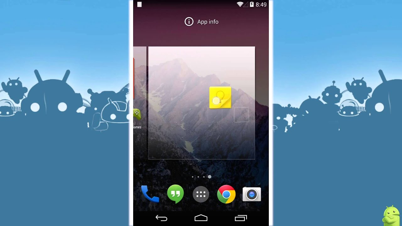 How to add home screens in Android 4 4 KitKat