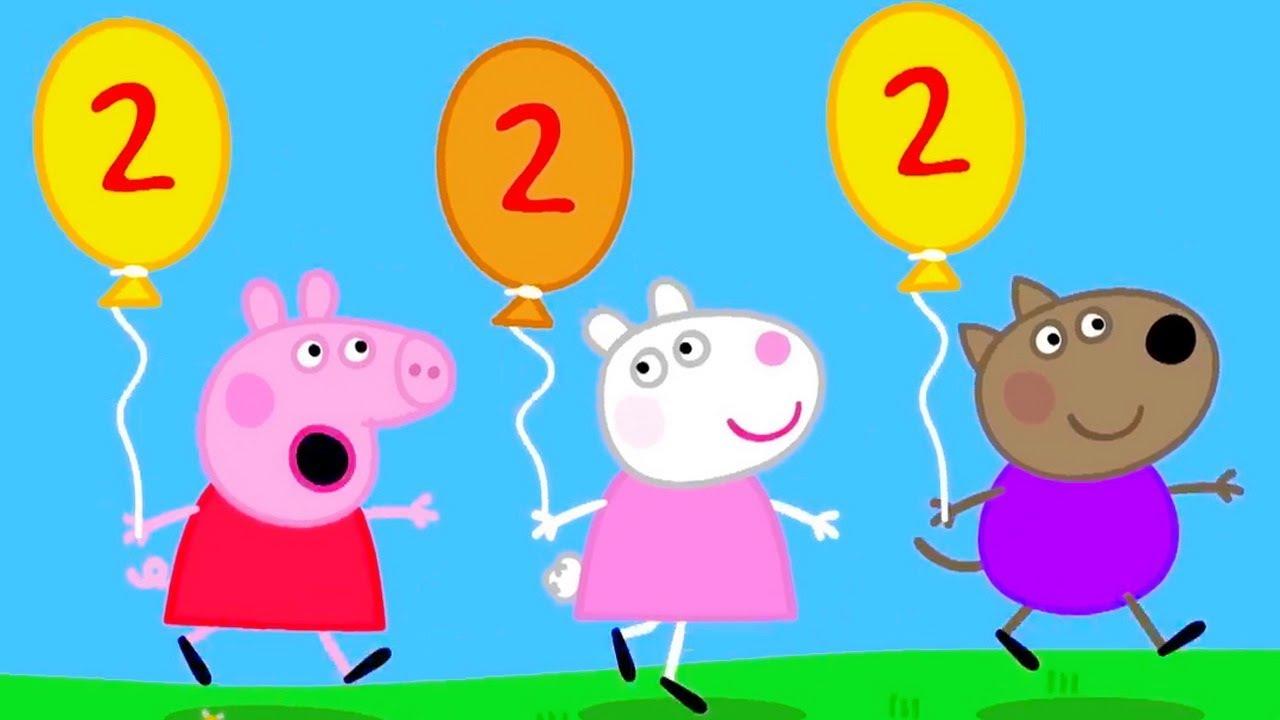 Свинка Пеппа - Воздушные Шарики и Шары - смотреть ...