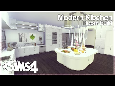 the sims 4 room build modern kitchen youtube. Black Bedroom Furniture Sets. Home Design Ideas