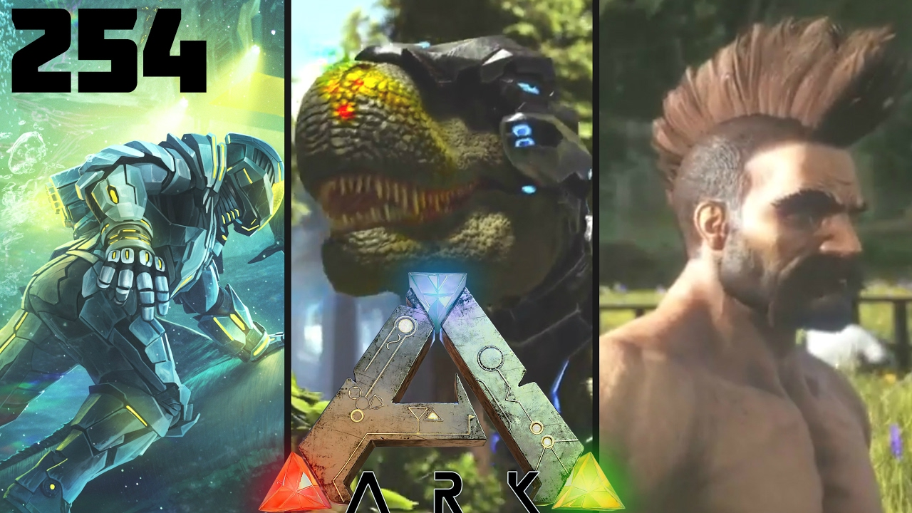 ark trailer maj 254 tek tier joute new dinos cheveux