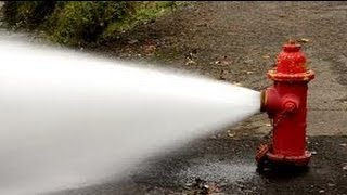 FUNNY FIRE HYDRANT EXPLOSION!!!
