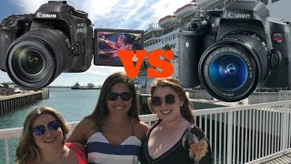 Cannon T6I vs 80 D- Why I spent $1500 for this!