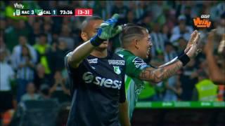 Cali 2 - 0 Nacional | Final ida Liga Aguila 2017-I | Win Sports