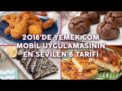 2018'de Yemek.com Mobil Uygulamasının En Sevilen 8 Tarifi (Seç Beğen) | Yemek.com
