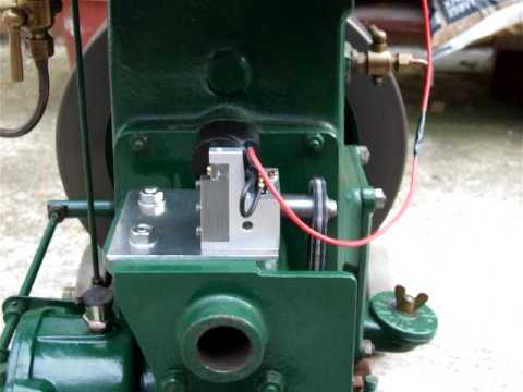 Lister D Fitted With Miniature Magneto Youtube