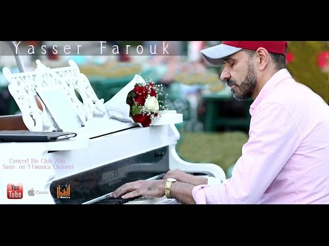 Yasser Farouk  Love & Peace  live romantic piano Concert 2016