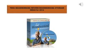 Teds Woodworking Review-woodworking Storage Ideas For 2014