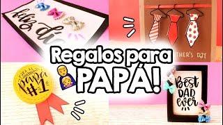 3 REGALOS FÁCILES para el día del padre!! ✄ Barbs Arenas Art!