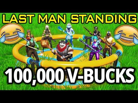 The 100,000 V-Buck Last Man Standing Fortnite Game (ft. Absorber, Melt, Razz, Etc.)