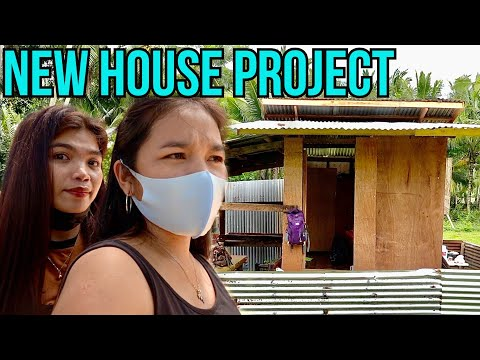 New Wooden House Project   Our Relocation House In The Province Philippines