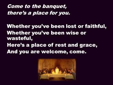 Come to the banquet song by Fay White