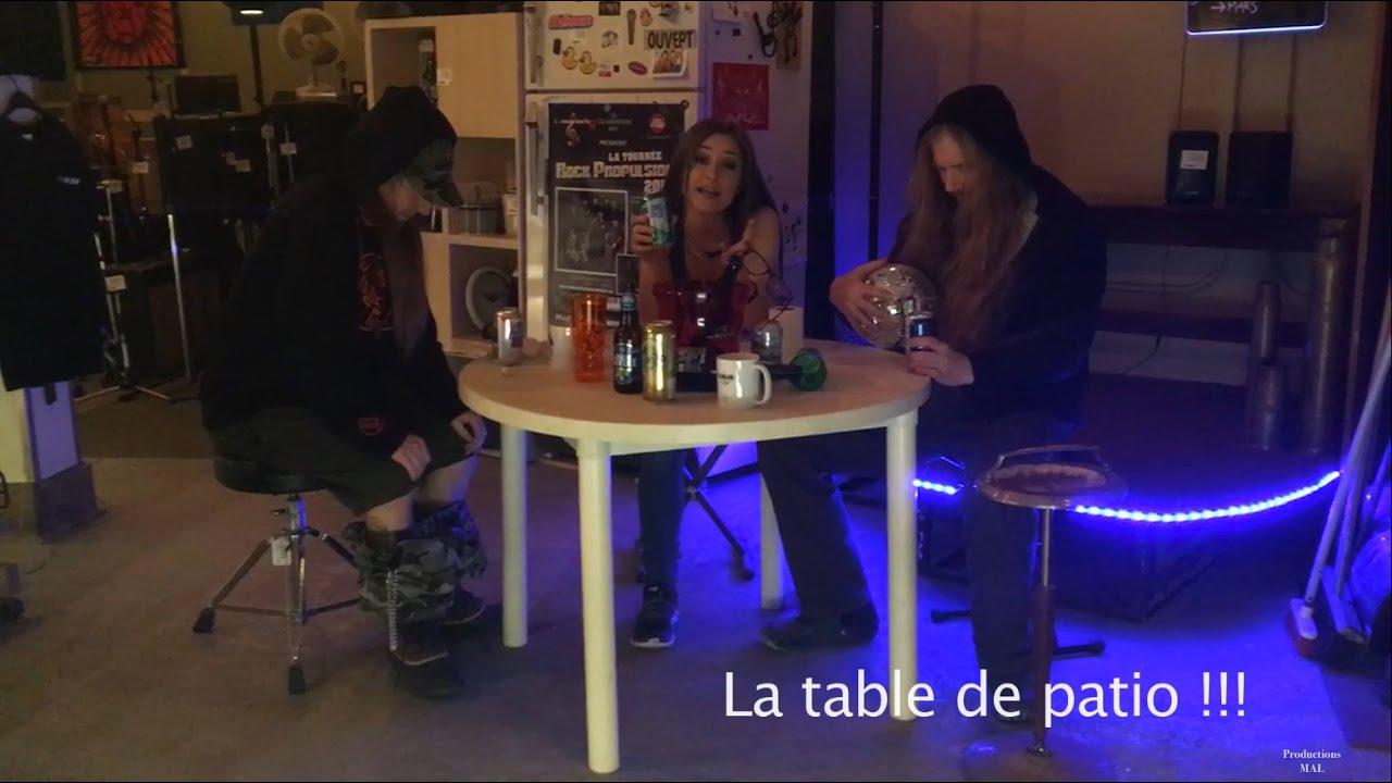 En Chaire Moi Lu0027sac   La Table De Patio !!!   Productions MAL   23/01/2017