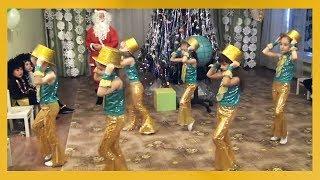 """Новогодний утренник Танец """"Привет, ёлка"""" подготовительная группа"""