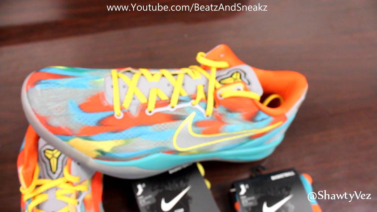 buy online 11f31 b82c4 Nike Kobe 8 System Venice Beach Review