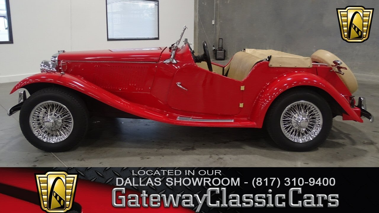 1952 MG TD Replica Stock #283-DFW Gateway Classic Cars of Dallas ...
