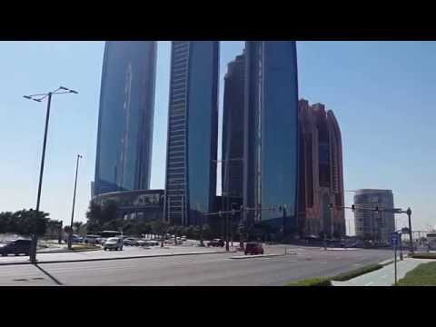 Etihad Towers in Abu Dhabi.