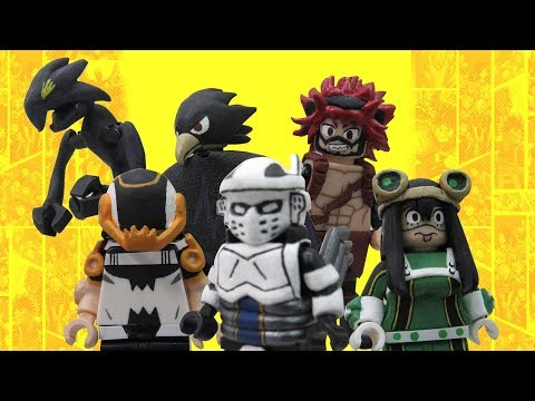 LEGO My Hero Academia Custom Minifigures Part 2