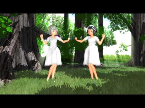 【MMD】白ワンピースれっしょるで林間合宿(祝RSモデル2周年)