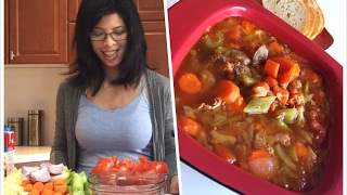 Packed full of vegetables - Instant Pot Beef Stew
