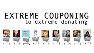 extreme couponing to extreme donating may 2017