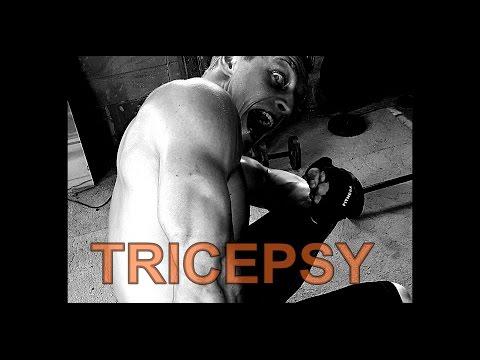 Nejlepší cviky na tricepsy | Aleš Lamka