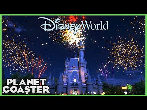 WDW Magic Kingdom: Firework Show! Park Spotlight 78 #PlanetCoaster