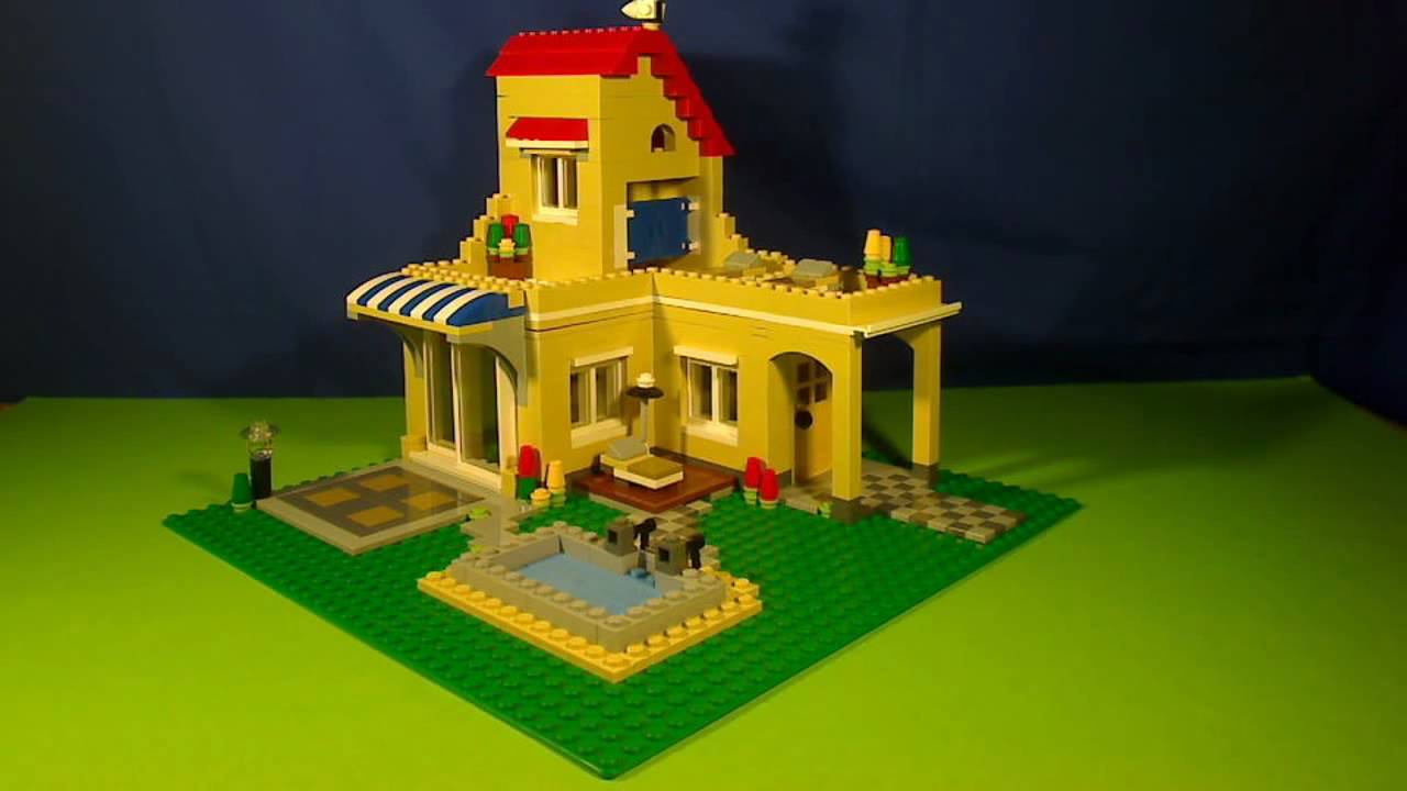 Lego Creator House Youtube