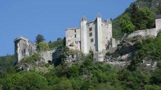 Savoie Miolans + lac de Carouge en drone 4K